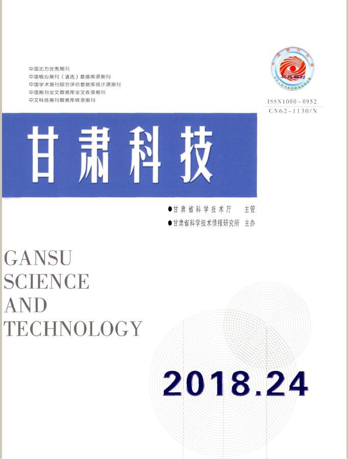 甘肃科技杂志征订