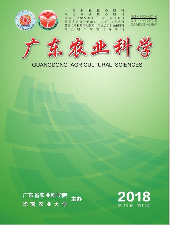 广东农业科学杂志邮购