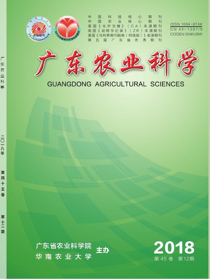 广东农业科学杂志购买