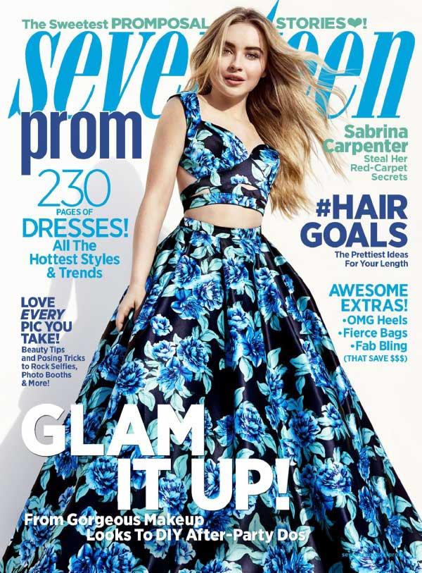 Seventeen 17岁少女生活杂志购买